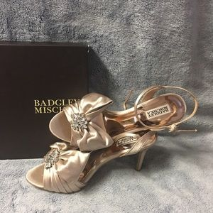 New Badgley Mischka Samantha Strappy Sandal